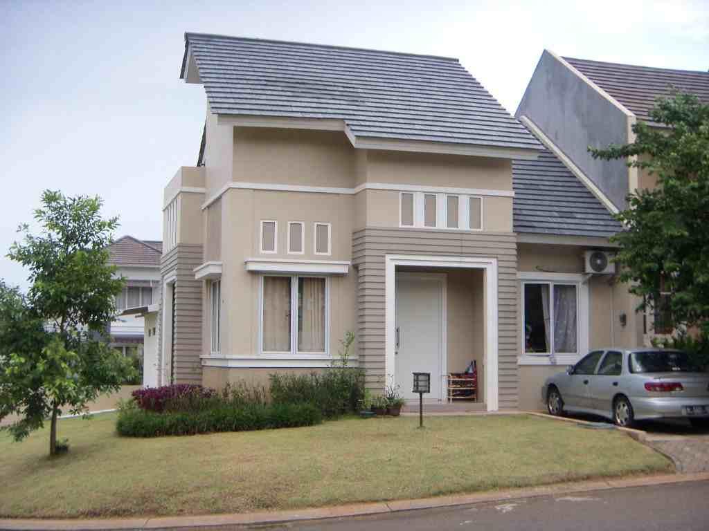 Kombinasi cat warna elegan untuk rumah minimalis