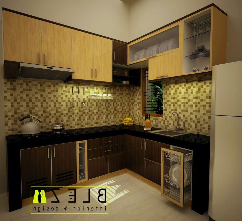 Kumpulan gambar desain kitchen set minimalis untuk rumah for Desain kitchen set