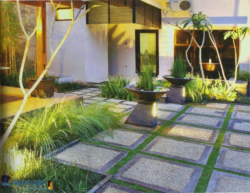 Desain Rumah Minimalis Dengan Halaman Luas desain halaman rumah terbaru indah dan nyaman untuk keluarga