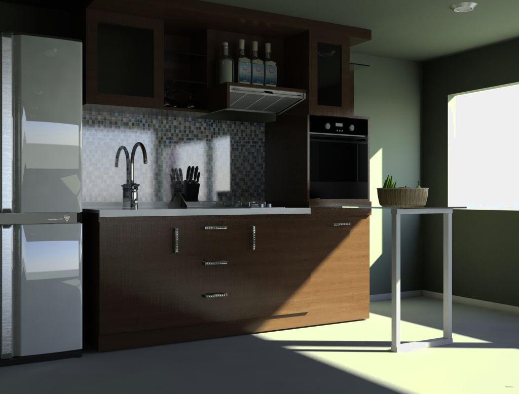 Kumpulan gambar desain kitchen set minimalis untuk rumah Kitchen setting pictures