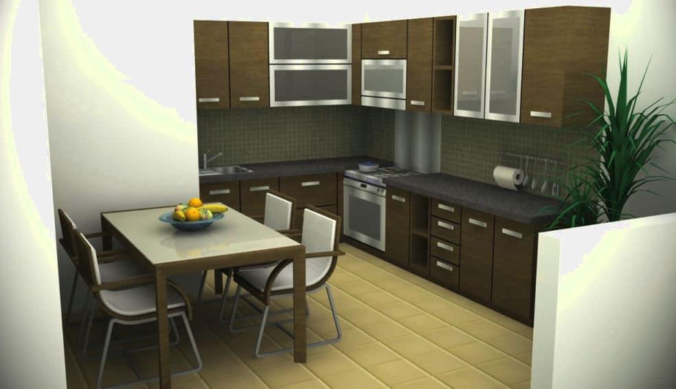 Desain Dapur Sempit Memanjang  kumpulan gambar desain kitchen set minimalis untuk rumah modern