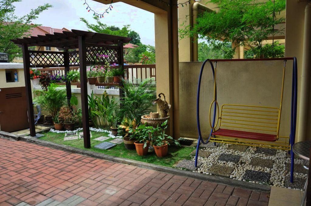 Desain Taman Rumah Kecil