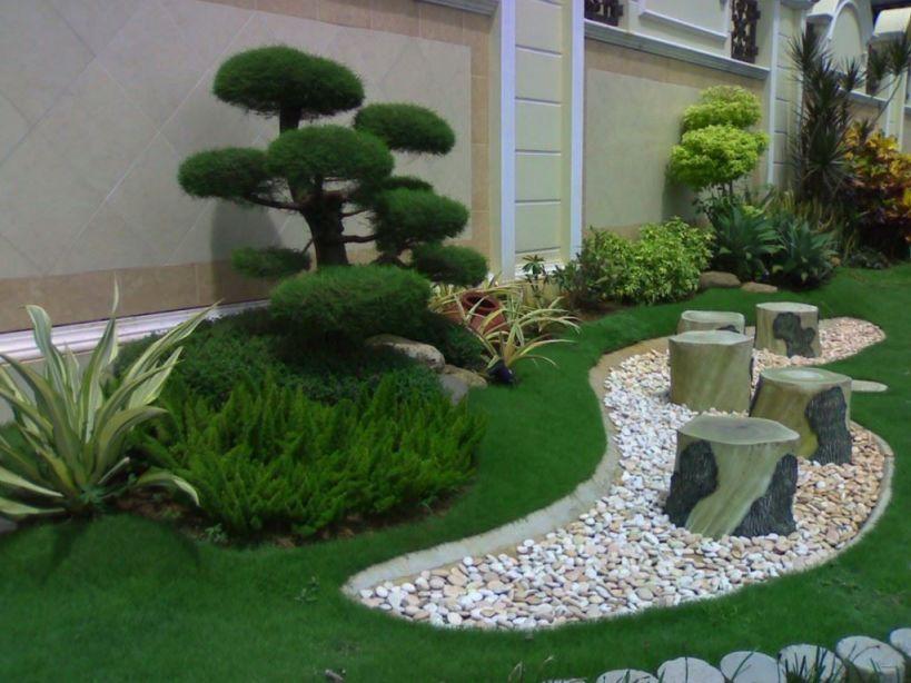 Desain Taman Samping Rumah Minimalis