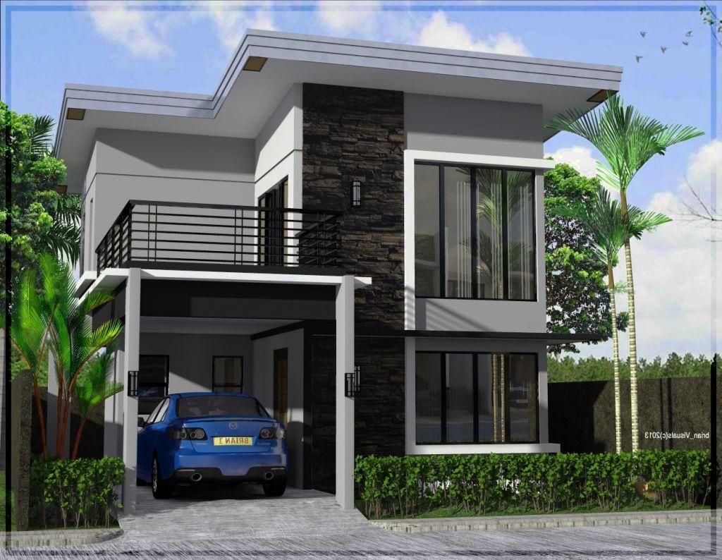 Desain Rumah Minimalis Type 21/60 2 Lantai - Jual Bata Ekspos