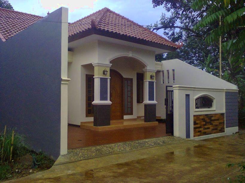 model lampu teras rumah minimalis