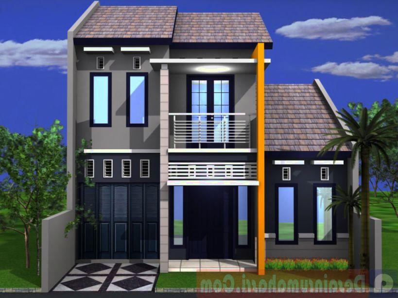 Rumah Minimalis Sederhana Mungil 2 Lantai