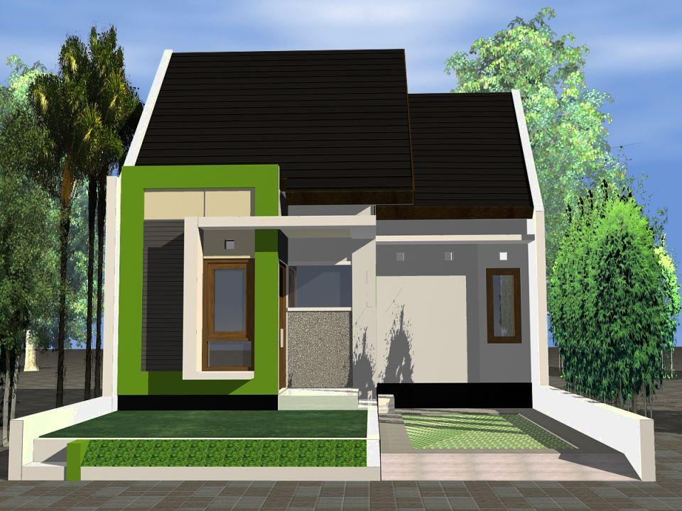 Rumah Mungil Minimalis Sederhana Modern