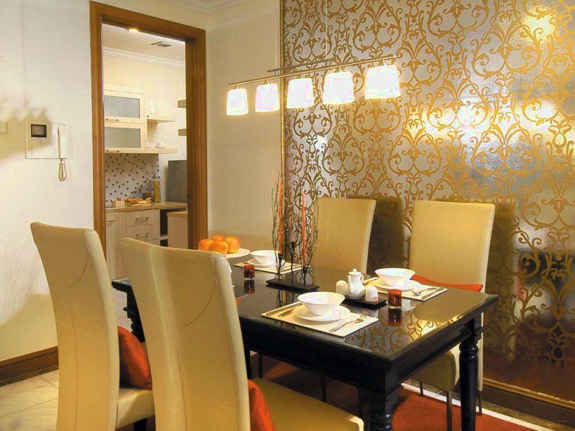 wallpaper dinding ruang makan