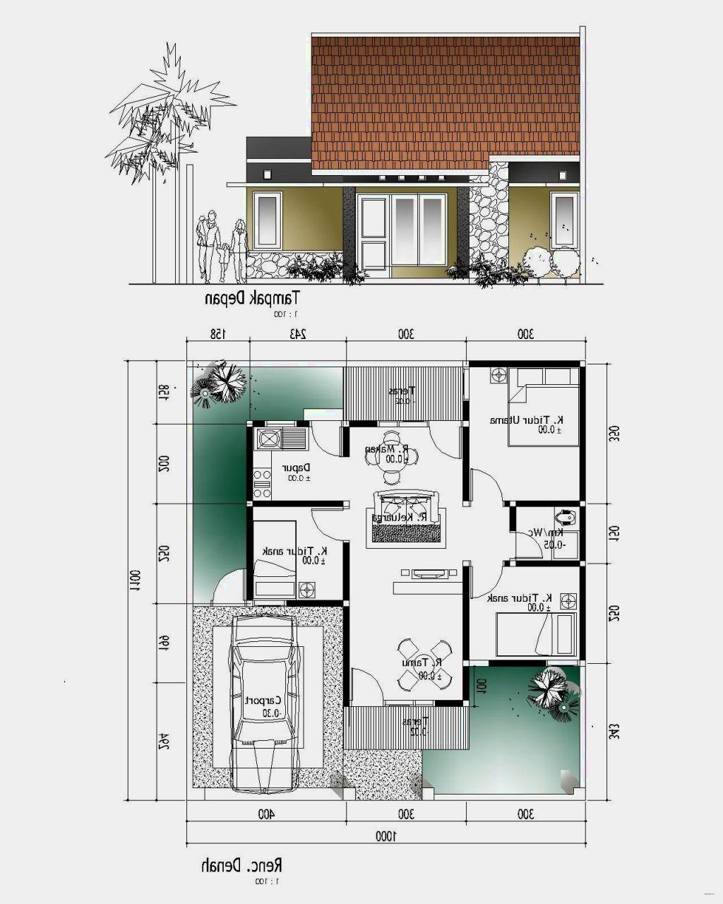 64 Desain Rumah Minimalis 3 Kamar Desain Rumah Minimalis Terbaru