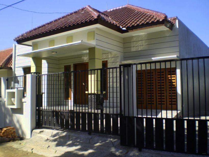 Desain Pagar Rumah Minimalis 1