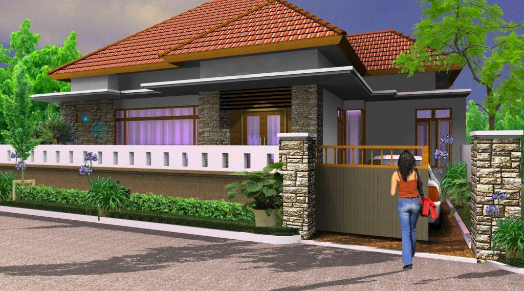 Desain Pagar Rumah Minimalis 3