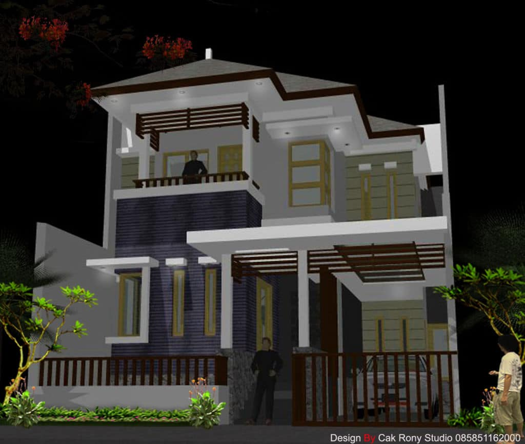 Rumah minimalis modern untuk inspirasi desain rumah anda for Design rumah mimimalis modern
