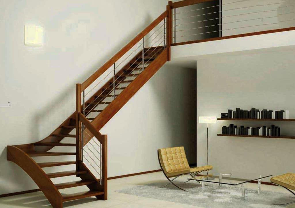 model tangga melayang