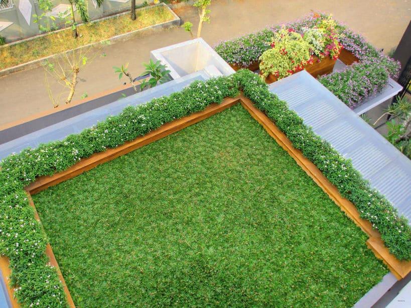 taman atas atap