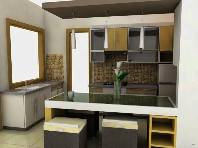 Desain Dapur Untuk Ruang Sempit Rumah Minimalis