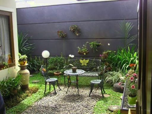 Desain Taman Depan Dan Dalam Rumah Minimalis