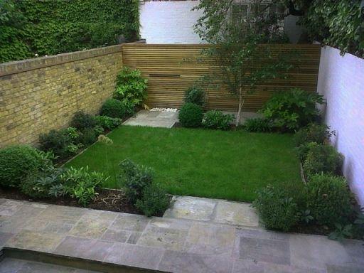 desain taman minimalis dibelakang rumah