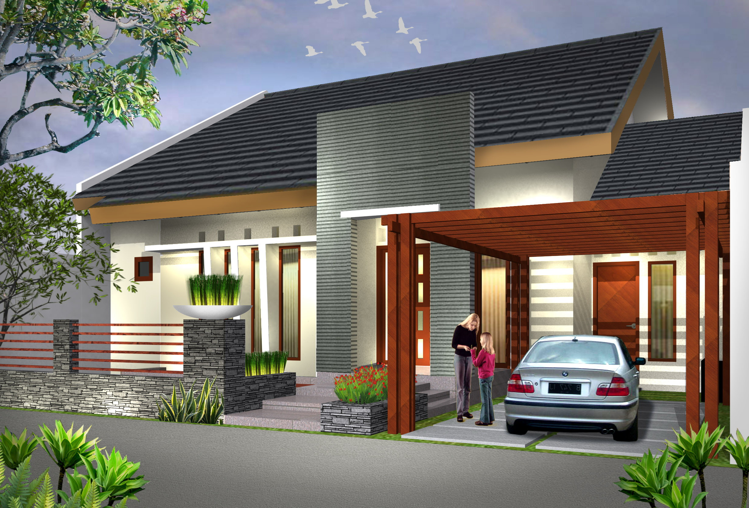 10 Desain Rumah Minimalis Modern Terbaik