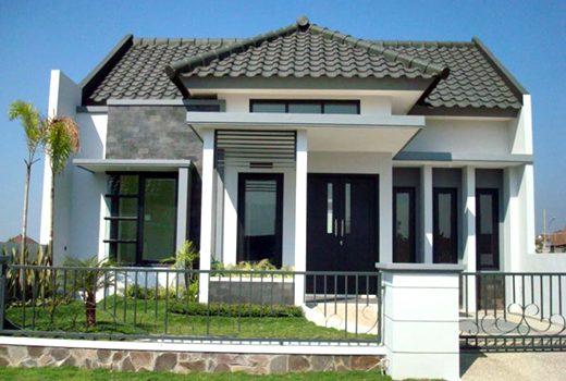 10 model rumah minimalis 1 lantai elegan