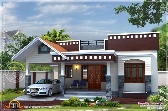 Gambar Rumah Mewah Minimalis Satu Lantai