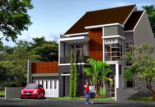 inilah model rumah minimalis terbaru 2 lantai