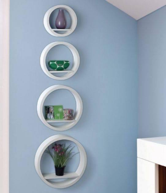 Gambar Rak Dinding Minimalis Untuk Ruang Tamu