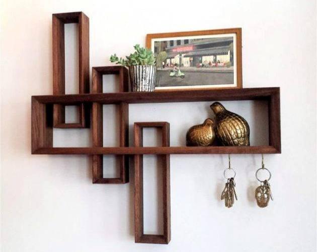 Foyer Modern Minimalis : Rak dinding minimalis untuk ruang tamu dan kamar