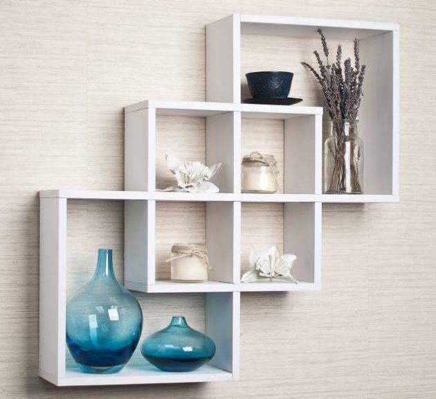 Rak Dinding Minimalis Untuk Ruang Tamu