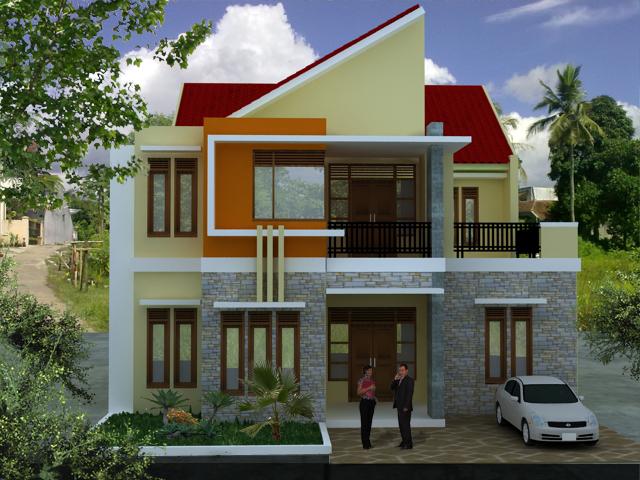 10 rumah minimalis 2 lantai modern