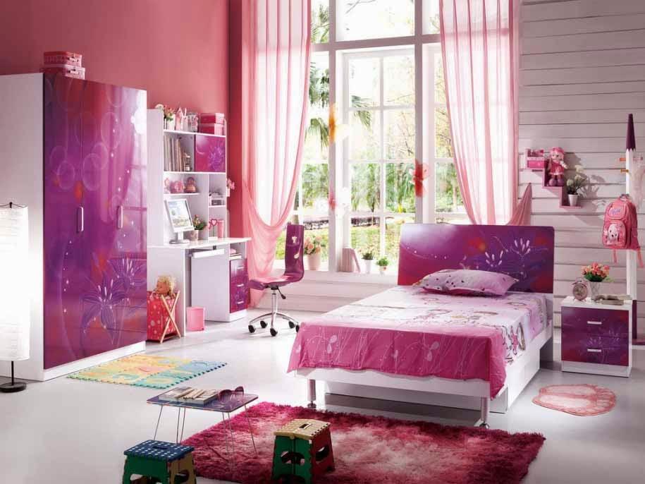 5 tips mendesain kamar anak perempuan