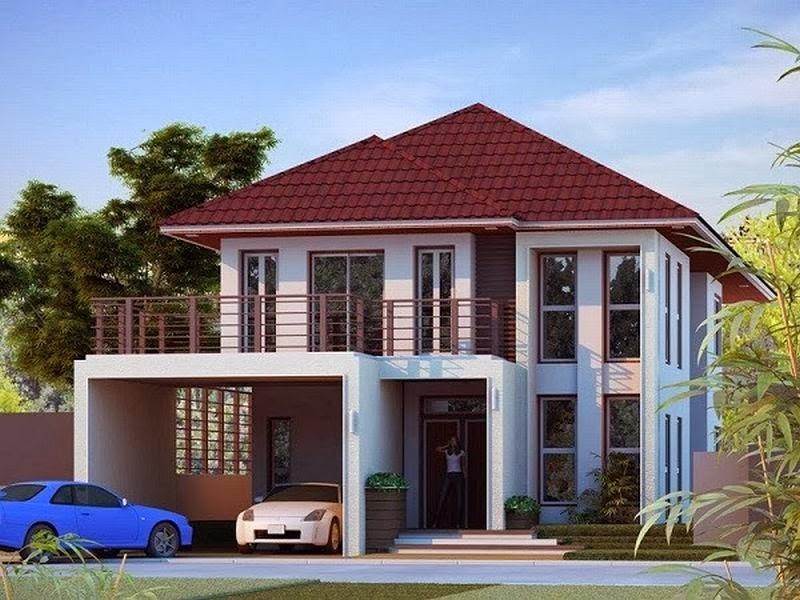 10 Desain Rumah Minimalis 2 Lantai Terbaru 2016