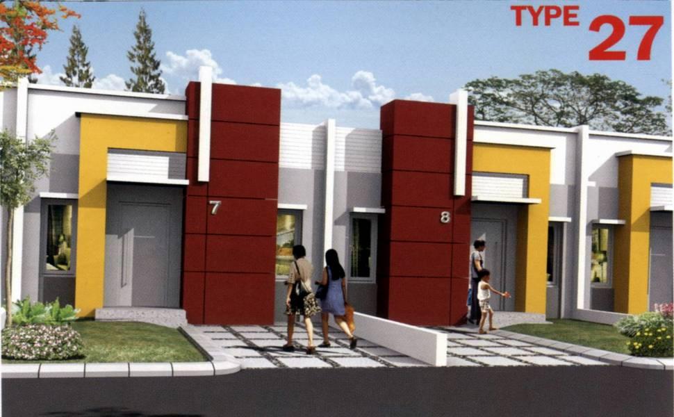 Gambar Desain Rumah Mungil Type 27 Minimalis Info Harga Barang ...