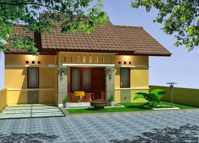 Desain Rumah Dengan Halaman Luas
