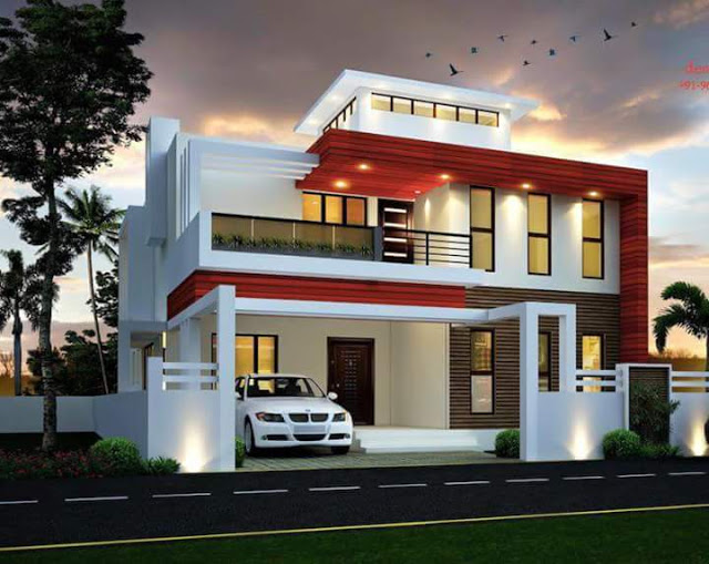 Beautiful Mansion Designs New Home Designs Latest Modern: 23 Model Rumah Terbaru, Keren