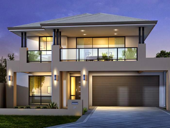 desain rumah minimalis 2 lantai type 45 terbaru