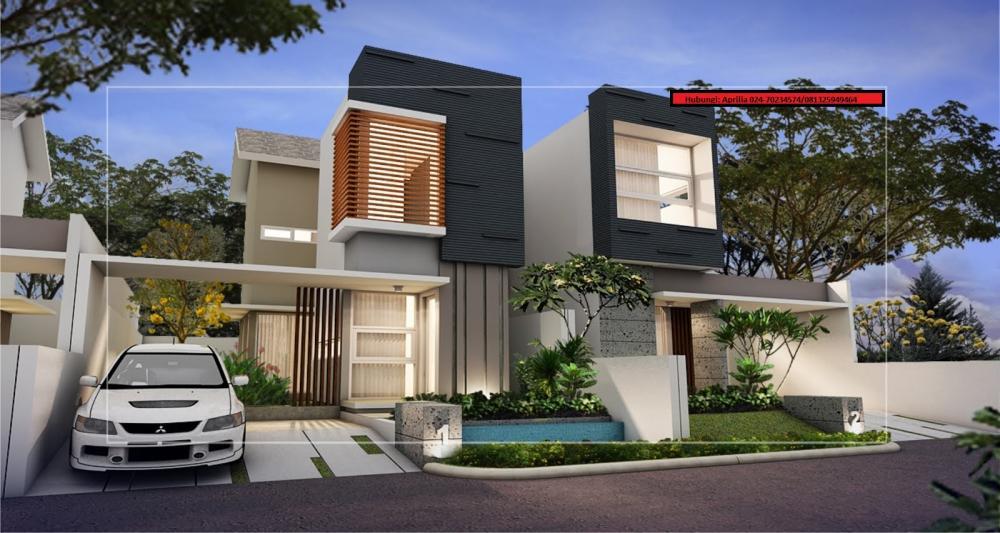 10 Desain Rumah Modern 2 Lantai 2016