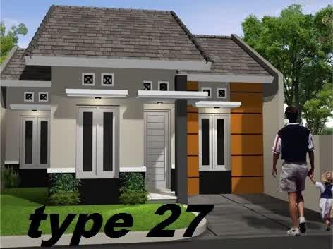desain rumah minimalis type 27