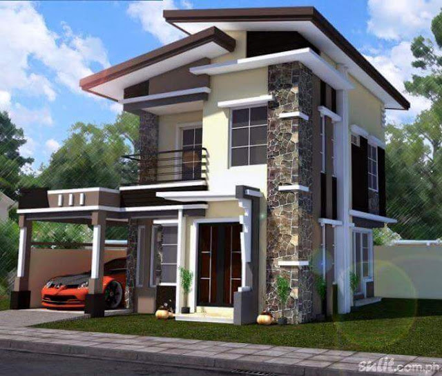 Simple House Design In The Philippines 2016 2017: 10 Desain Rumah 2 Lantai Modern Elegan, Unik