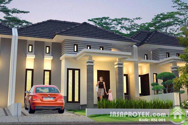 Image Result For Desain Rumah Minimalis Modern Satu Lantai