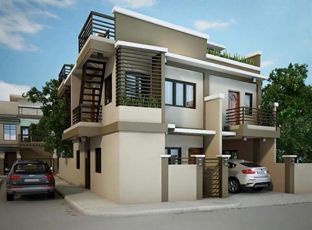 Desain Rumah 2 Lantai Modern Elegan & 10 Desain Rumah 2 Lantai Modern Elegan Unik!