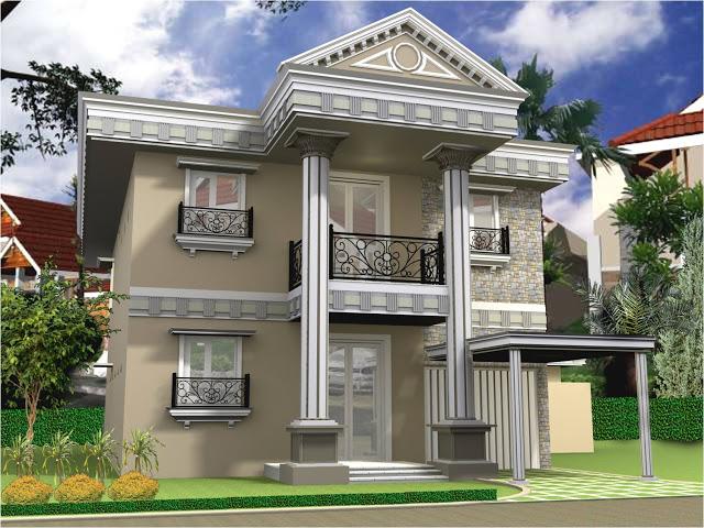 Contoh Desain Rumah Idaman 2 Lantai Desainrumahku Id