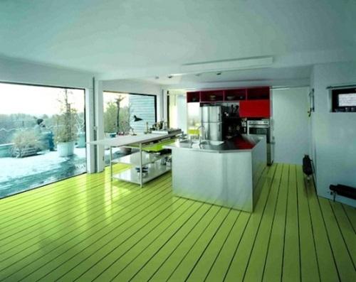 Memilih Warna Lantai Rumah Minimalis
