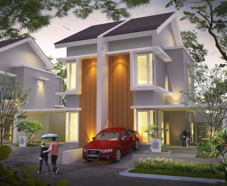 10 model rumah terbaru 2 lantai