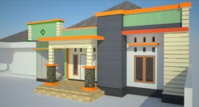 atap teras rumah minimalis : rumah pantura