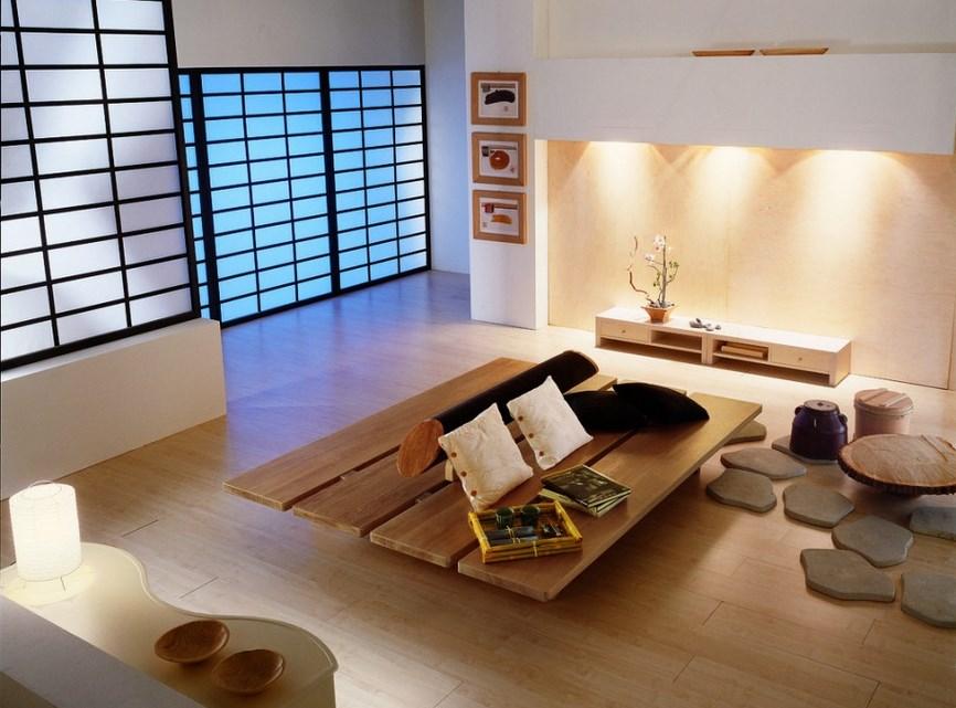 Desain Ruang Tamu Tanpa Kursi Untuk Maksimalkan Luas Rumah Minimalis