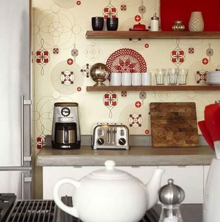 Wallpaper Kertas Dinding Dapur