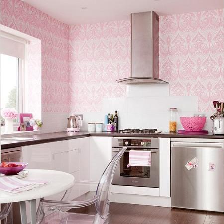 Wallpaper Kertas Dinding Dapur Kreasi Untuk Percantik Interior Rumah